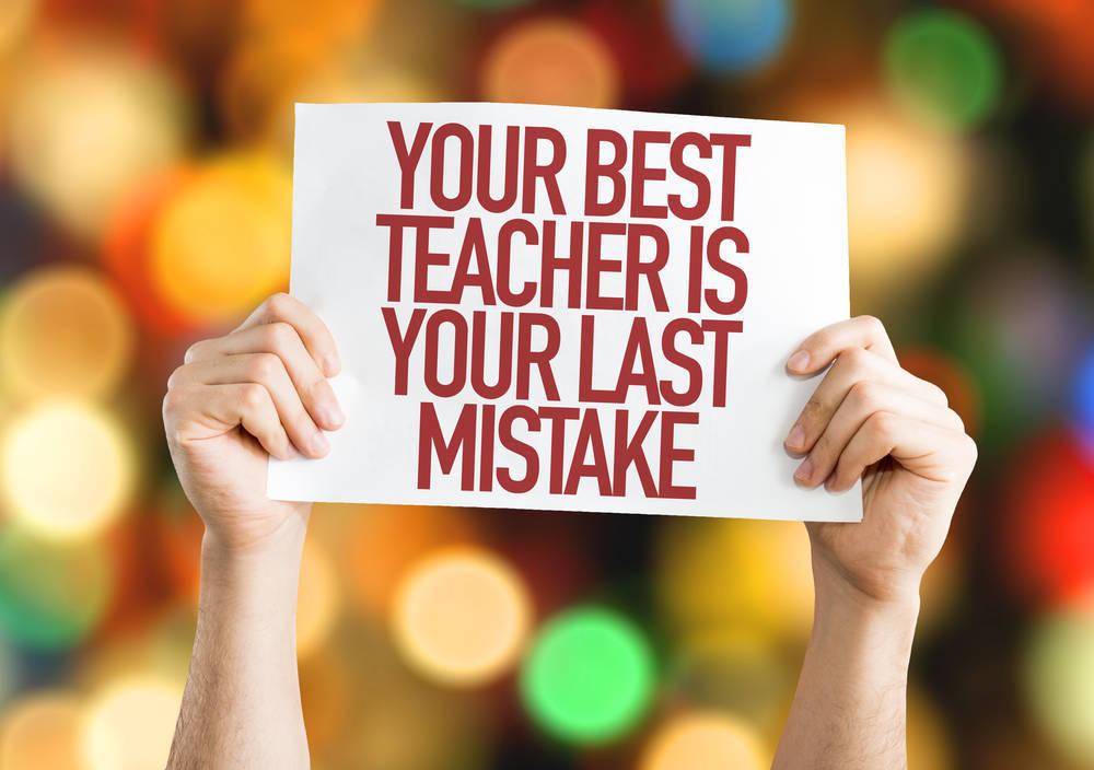 Elimina el miedo al error para tener éxito