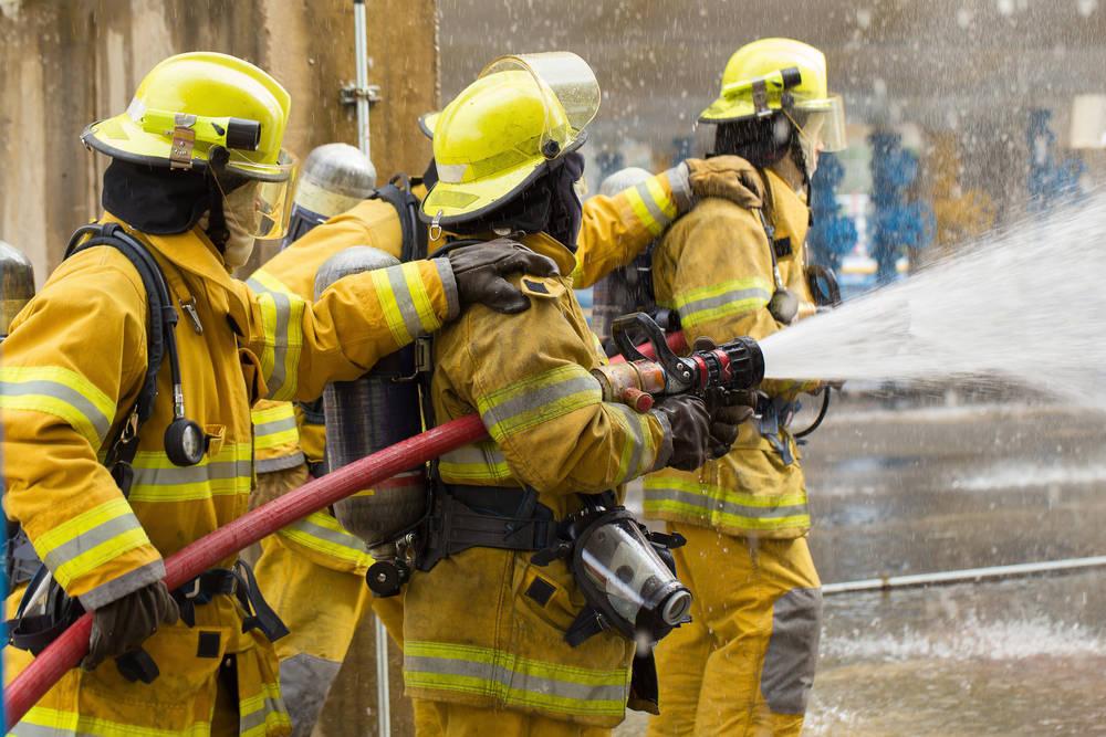 La equipación en la lucha contra los incendios